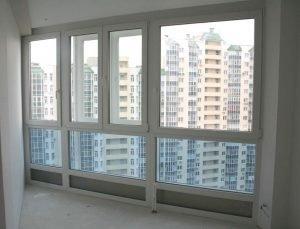 Остекление фасадных балконов вторым контуром - виндсервис - .