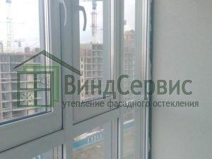 Мурино, ул. Шувалова, 73 - витражное остекление