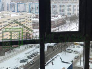 Проспект Королёва, 7 - витражное остекление