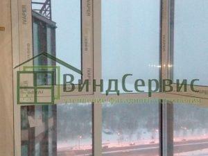 ЖК Медный Всадник лыжный 8/1-653 - витражное остекление