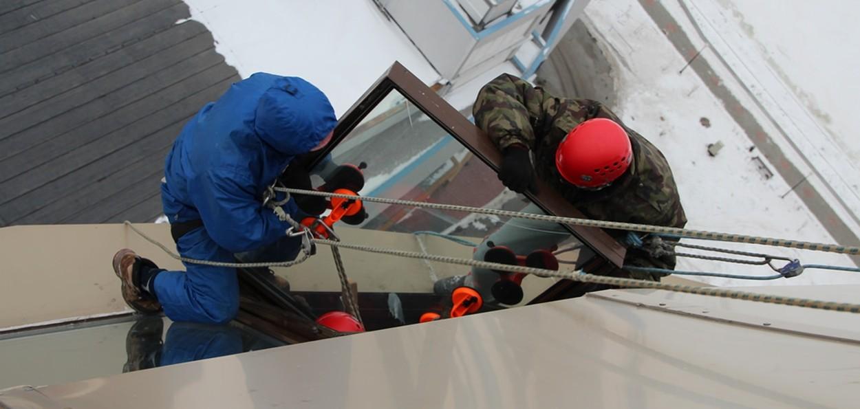 Замена холодного остекления в Санкт-Петербурге