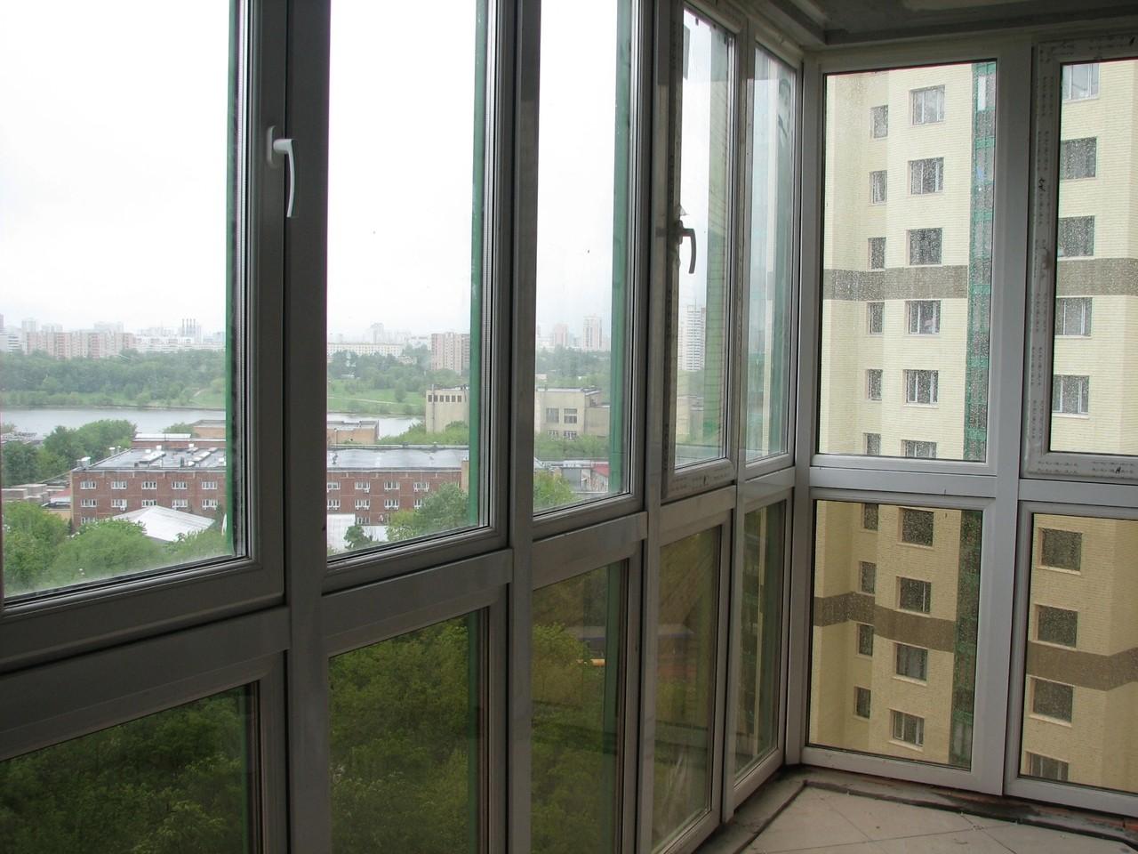 Фасадное остекление в СПб
