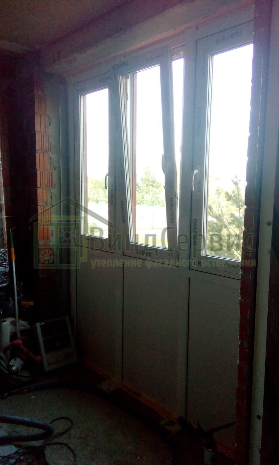Витражное остекление и пластиковые окна. Мистолово Горная 17-1