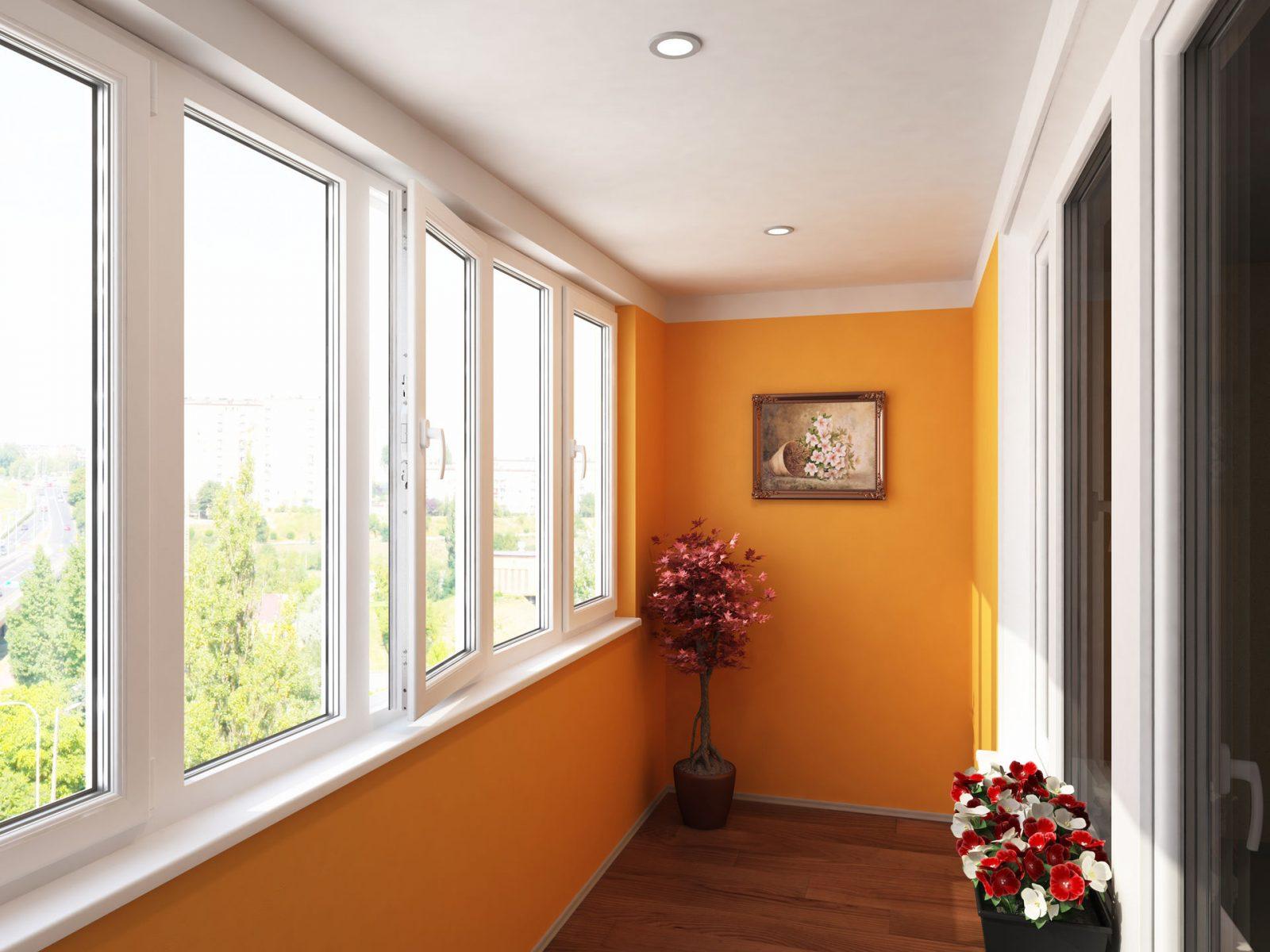 Ремонт балкона отделка