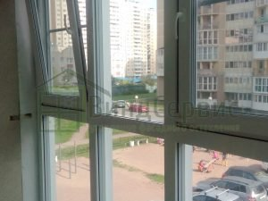 Витражное остекление. Ленинский 82-2 ЖК Аквамарин-2