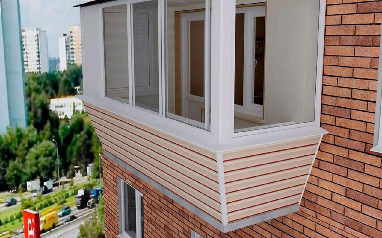 Ремонт балкона остекление и отделка