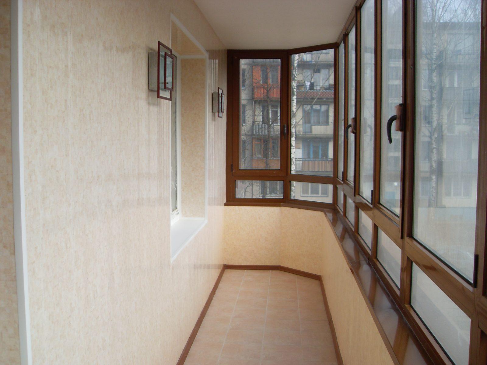 Ремонт балкона в Санкт-Петербурге