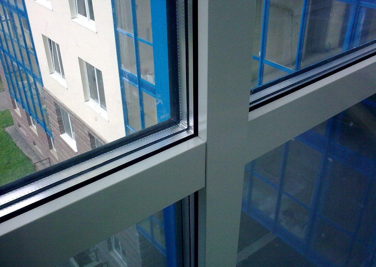 Стеклопакет для балкона с теплым остеклением
