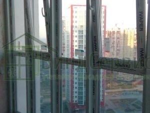 Витражное остекление с коробами 2. Ленинский 64 ЖК Ленинский парк