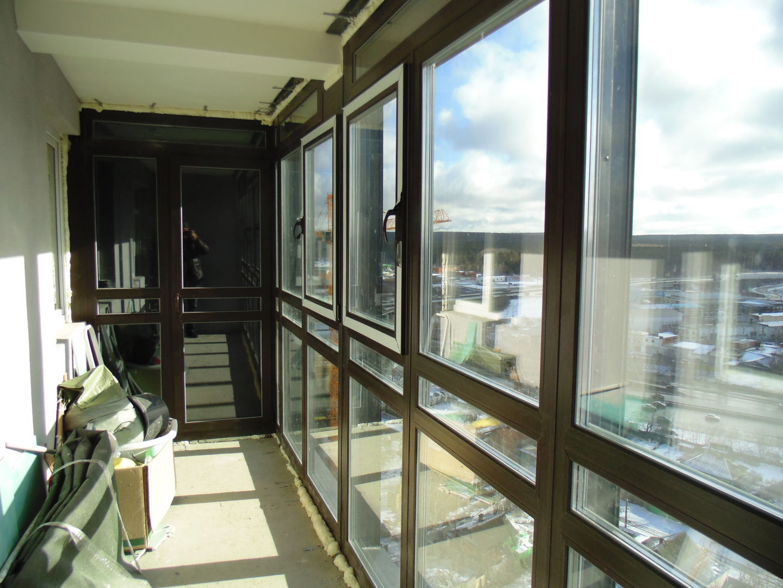 витражное остекление балконов