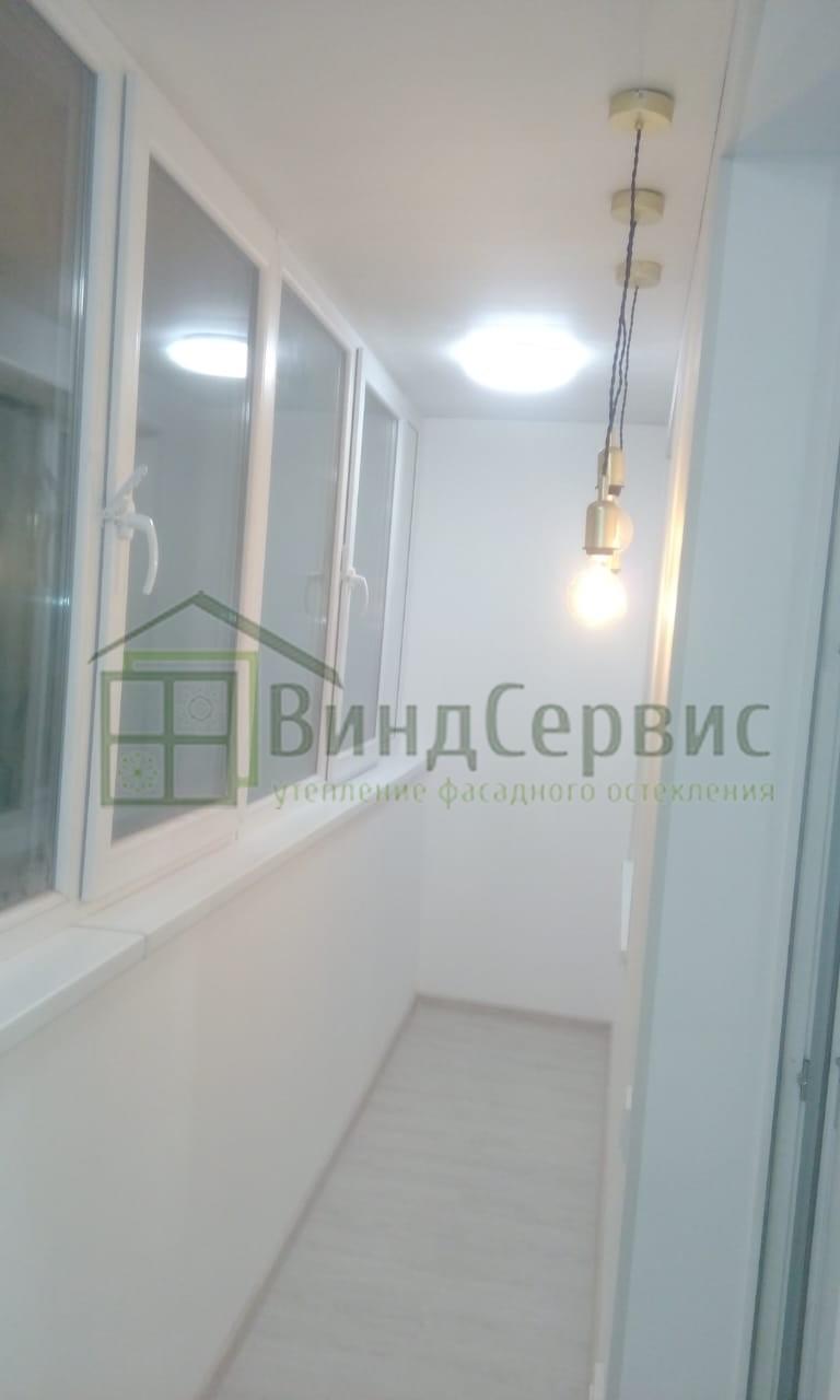 Внутренняя отделка балкона. Матроса Железняка 39