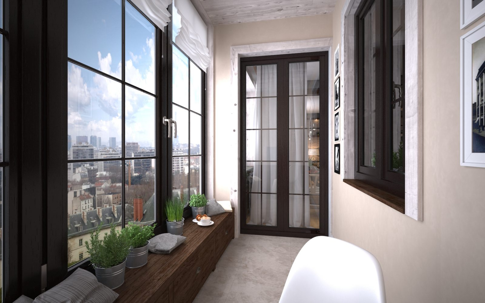 французские окна в квартире на балкон фото данные полной