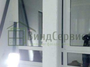 Независимое витражное остекление балкона. Кол туши Морской проезд 2