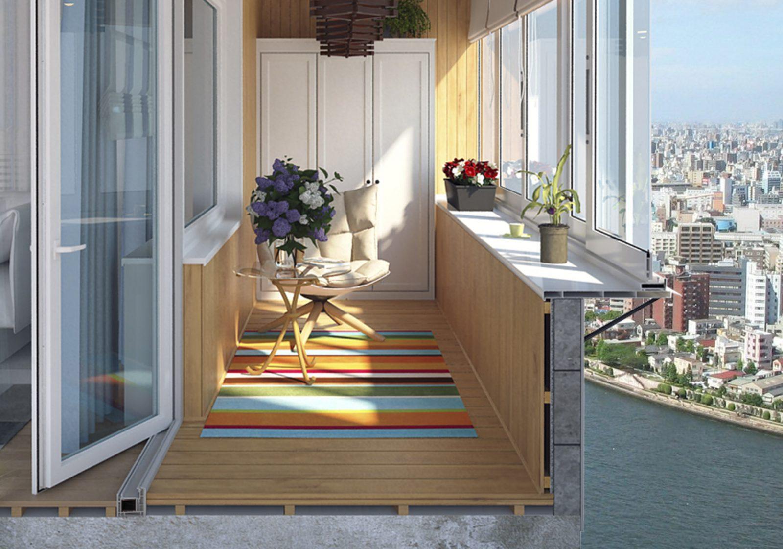 Сколько стоит балкон под ключ в Санкт-Петербурге