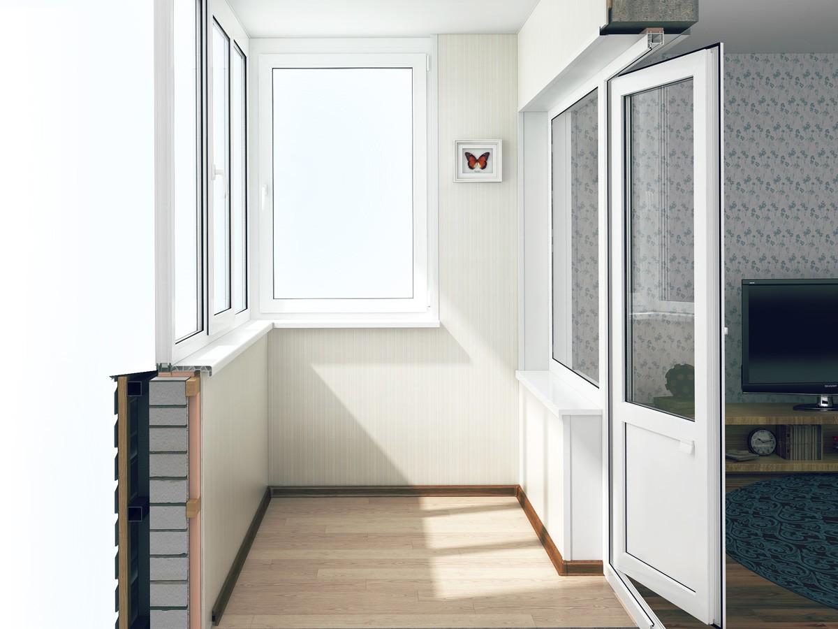 Недорогое остекление балкона или лоджии