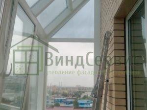 Фасадное остекление с коробами. Варшавская 9-1