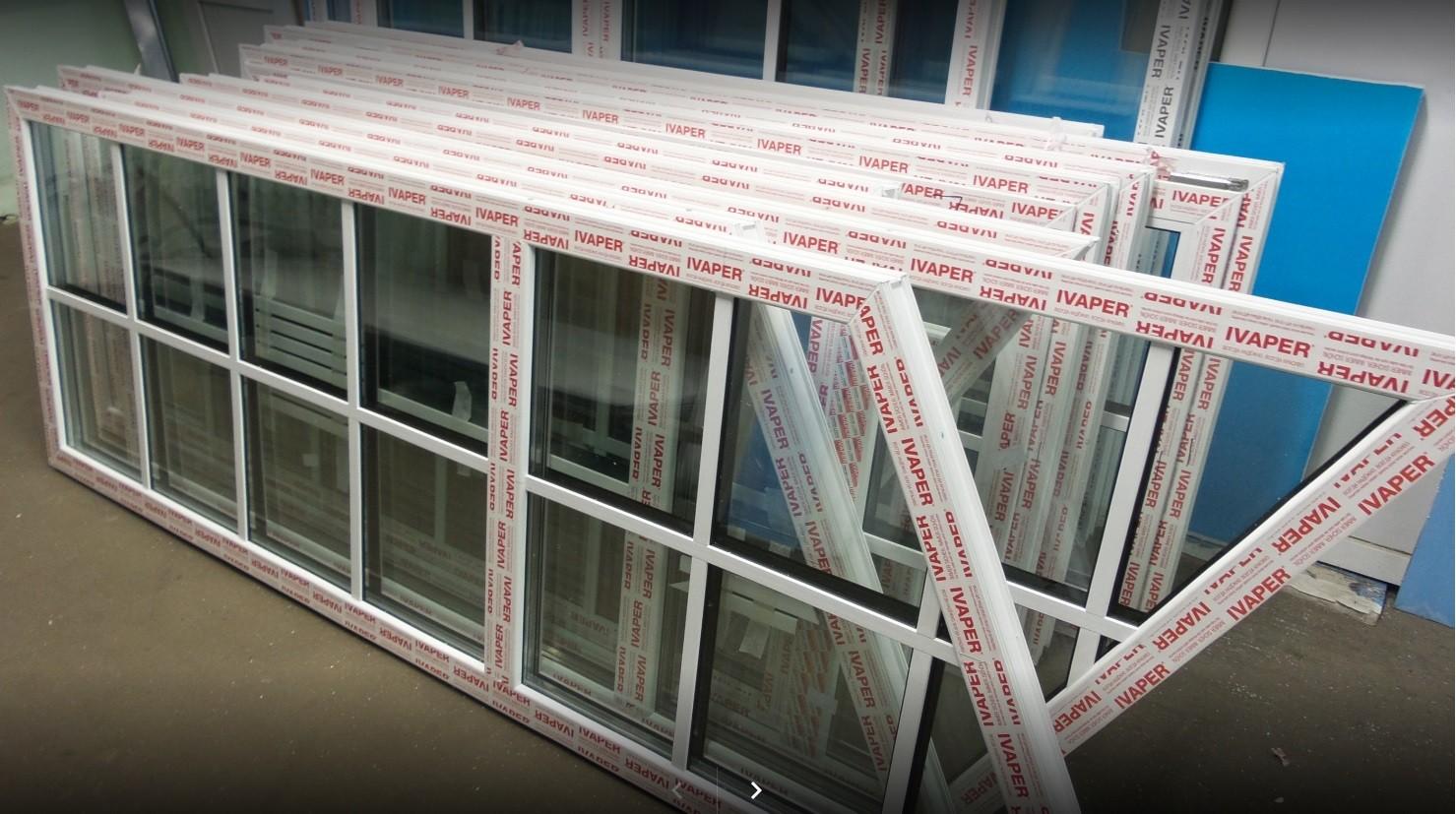 Остекление балкона окнами Ivaper