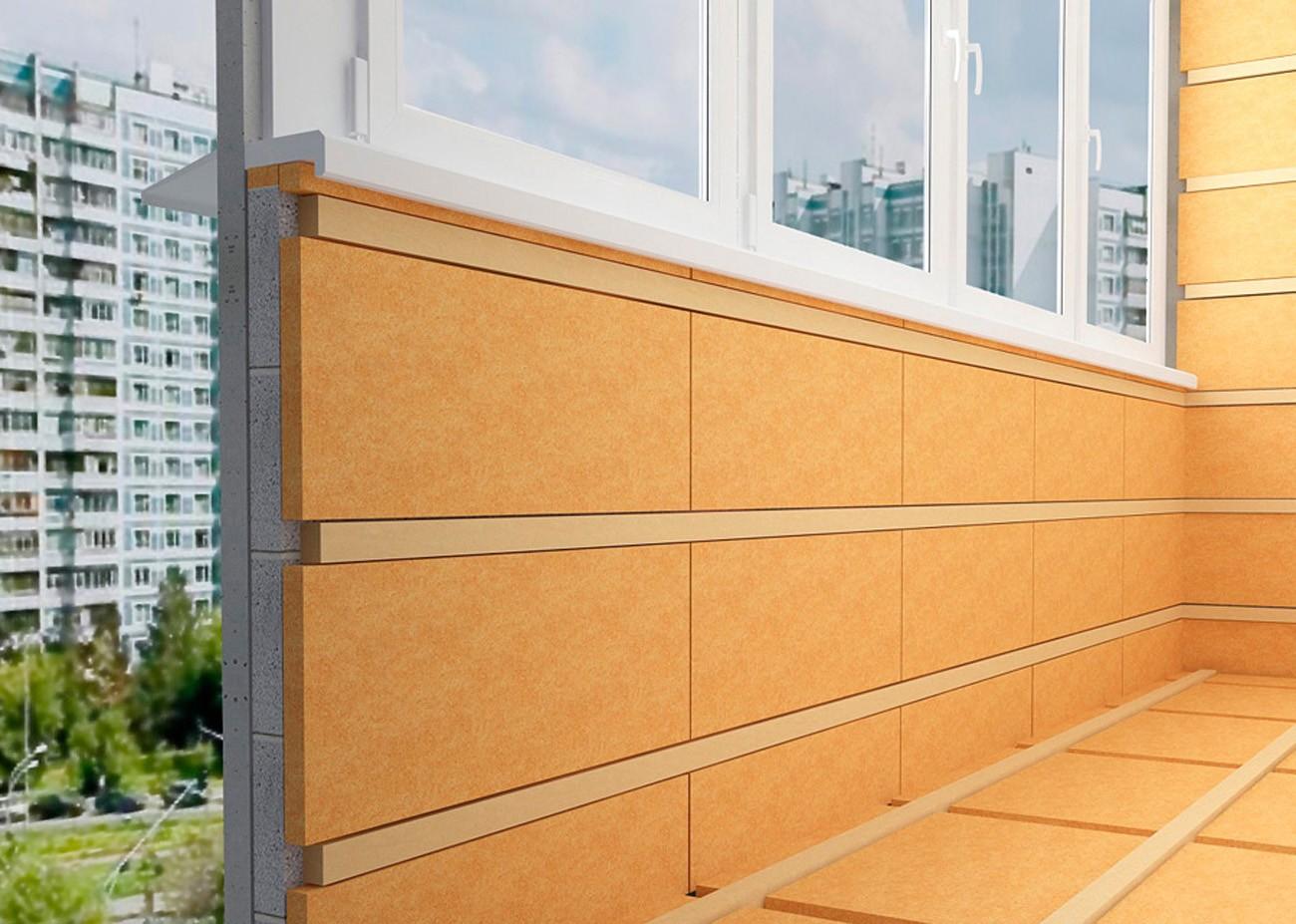Утепление балкона цена в СПб