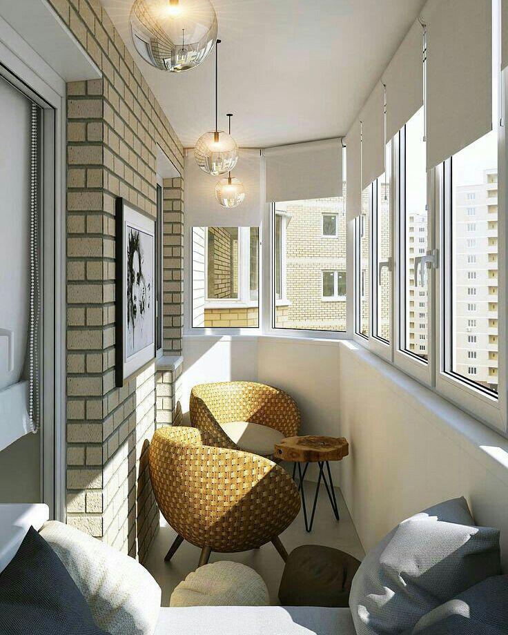 Идеи для отделки балкона и лоджии