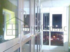 Витражное остекление балкона. Европейский 21-2 ЖК Березовая роща