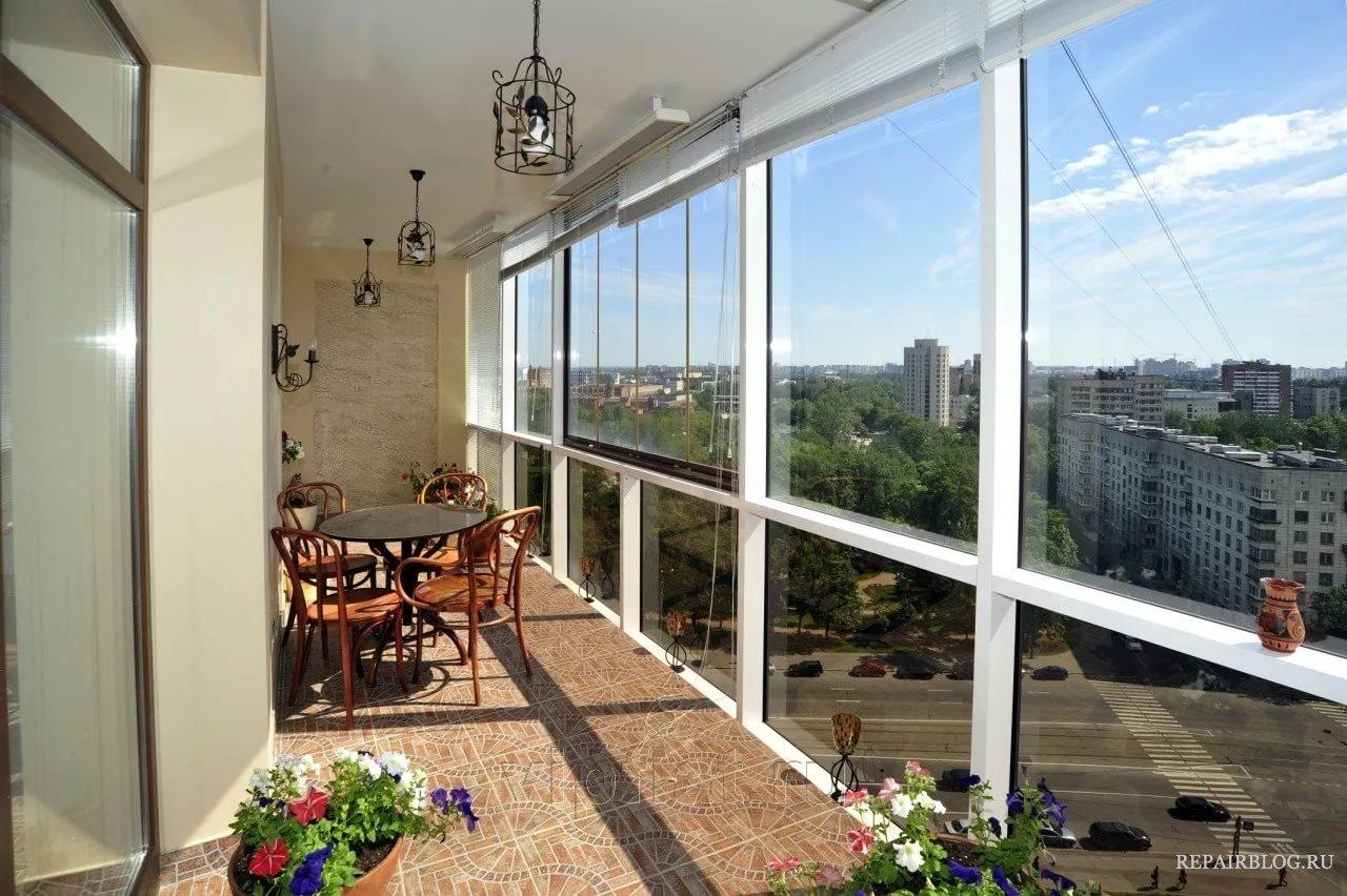 Балконное остекление
