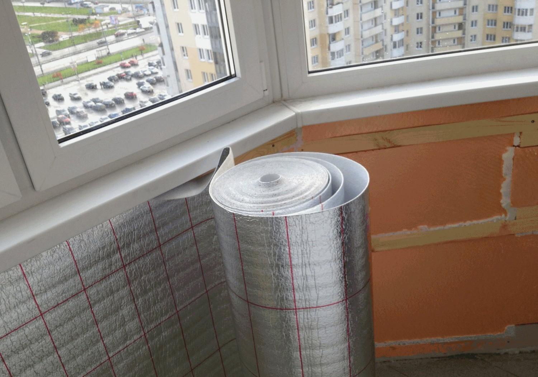 Пароизоляция балкона или лоджии