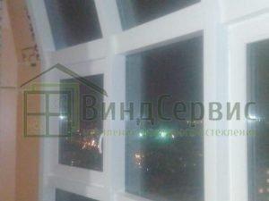 Луначарского11-1. Фасадное остекление с коробами