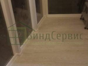 Ленинский проспект 64к1 витражное остекление с коробами и отделкой