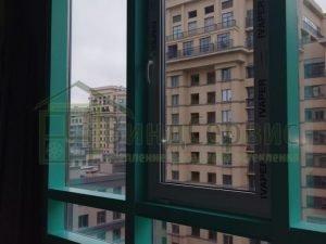 Московский 183-185 фасадное остекление с коробами